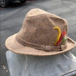 NWT vintage fedora hat